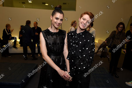 Stock Image of Zoe Levin and Brendan Scannell