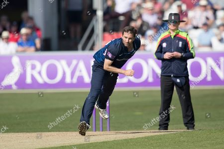 Tim Murtagh of Middlesex CCC in action during Essex Eagles vs Middlesex, Royal London One-Day Cup Cricket at The Cloudfm County Ground on 19th April 2019