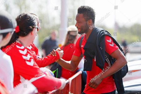 Middlesbrough midfielder Mikel John Obi (2)  arriving at the ground during the EFL Sky Bet Championship match between Middlesbrough and Stoke City at the Riverside Stadium, Middlesbrough