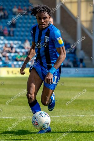 Gillingham FC midfielder Regan Charles-Cook (11) during the EFL Sky Bet League 1 match between Gillingham and Plymouth Argyle at the MEMS Priestfield Stadium, Gillingham