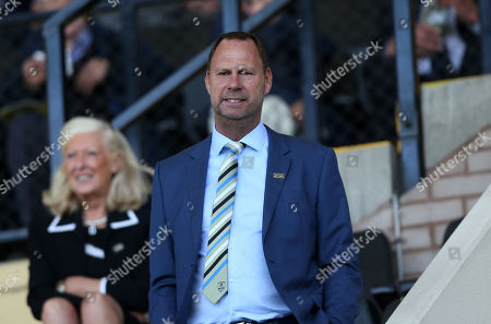 Notts County's current owner Alan Hardy
