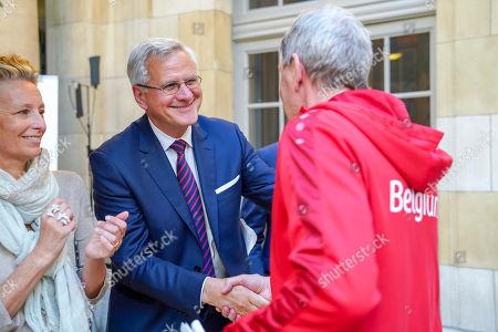 Minister Kris Peeters, Eddy Beckers