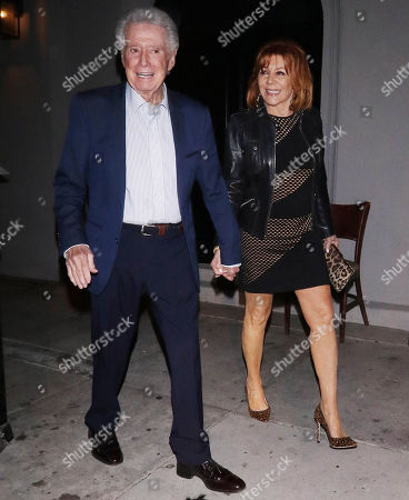 Regis Philbin out and about, Los Angeles