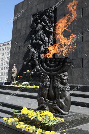 76th anniversary of Ghetto Uprising, Warsaw