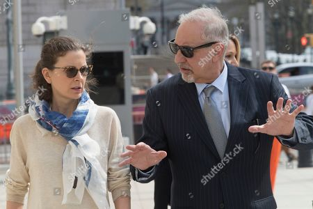 Mark Geragos, Clare Bronfman. Clare Bronfman, left, arrives at Federal court with her attorney Mark Geragos in the Brooklyn borough of New York, . Bronfman has pleaded guilty to charges implicating her in a sex-trafficking conspiracy case against an upstate New York self-help group
