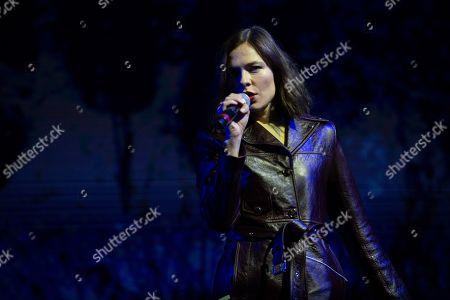 Stock Photo of Nina Kraviz performs at the Coachella Music & Arts Festival at the Empire Polo Club, in Indio, Calif