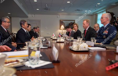 U.S. Secretary of Defense meets with Japanese Minister of Defense