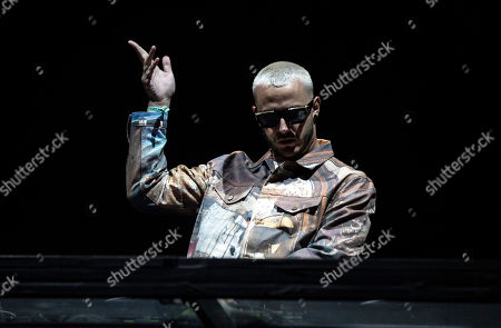 Stock Photo of DJ Snake performs on stage during the Coachella Valley Music and Arts Festival in Indio near Palm Springs, California, USA, 19 April 2019 (issued 20 April 2019). The festival runs from 12 to 21 April 2019.