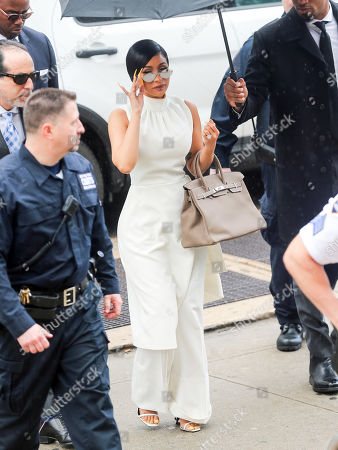 Cardi B at Queens Criminal Court , New York
