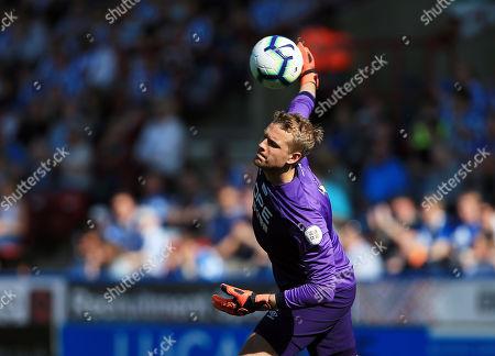 Stock Picture of Huddersfield Town goalkeeper Jonas Lossl