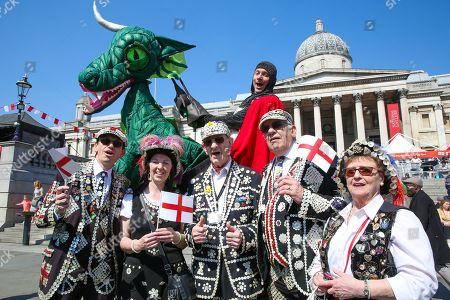 Feast of St George celebrations, London