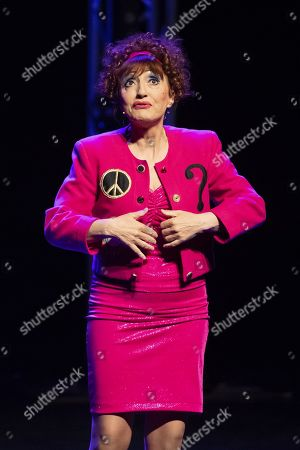 Stock Photo of French comedian Noelle Perna.