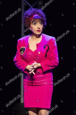 Stock Picture of French comedian Noelle Perna.