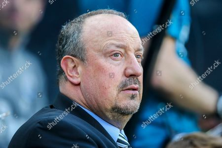 Stock Image of Newcastle United manager Rafael Benitez during the Premier League match between Newcastle United and Southampton at St. James's Park, Newcastle
