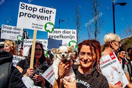 Mars against animal testing, Rotterdam, The Netherlands