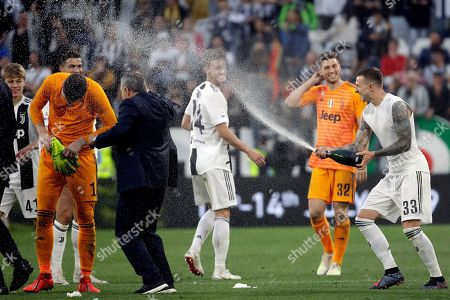 Editorial photo of Soccer Serie A, Turin, Italy - 20 Apr 2019