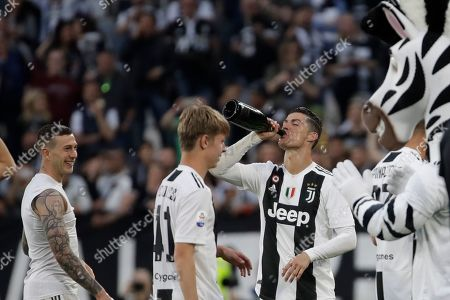 Editorial picture of Soccer Serie A, Turin, Italy - 20 Apr 2019