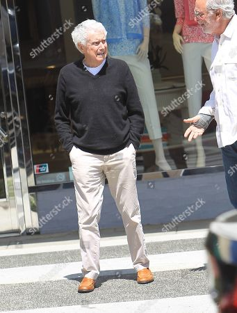 Regis Philbin, out and about, Los Angeles