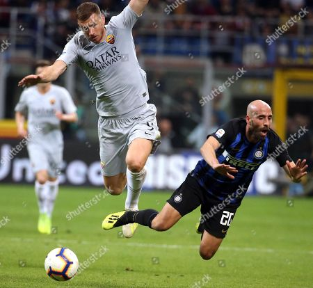 Editorial photo of Inter vs Roma, Milan, Italy - 20 Apr 2019