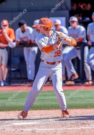 Editorial image of NCAA Baseball Texas vs Oklahoma State, Stillwater, USA - 20 Apr 2019