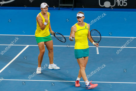 Editorial photo of Fed Cup tennis tournament in Brisbane, Australia - 21 Apr 2019