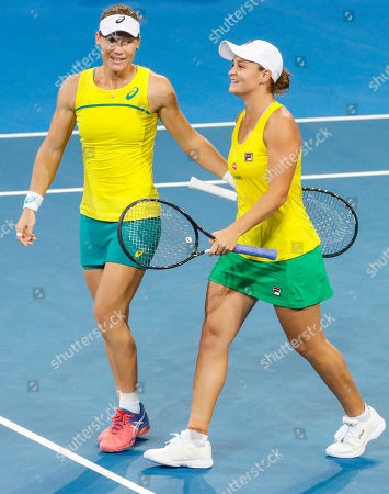 Editorial picture of Fed Cup tennis tournament in Brisbane, Australia - 21 Apr 2019