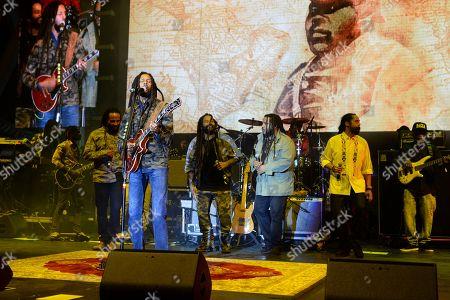 Ziggy Marley, Julian Marley, Stephen Marley, Damian Marley, Ky-Mani Marley