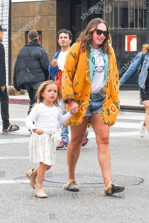 Tamara Ecclestone and daughter Sophia Ecclestone-Rutland