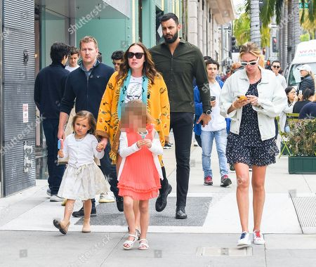 Editorial photo of Tamara Ecclestone and Petra Ecclestone out and about, Los Angeles, USA - 20 Apr 2019