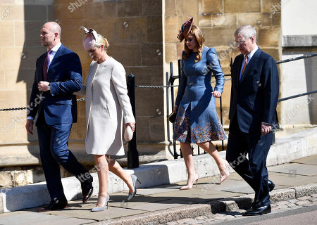 Editorial picture of Royal Family Easter Service, Windsor, United Kingdom - 21 Apr 2019