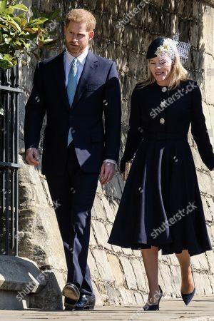 Prince Harry, Autumn Phillips