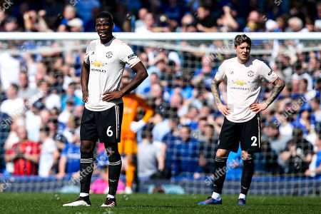 Paul Pogba of Manchester United cuts a dejected figure