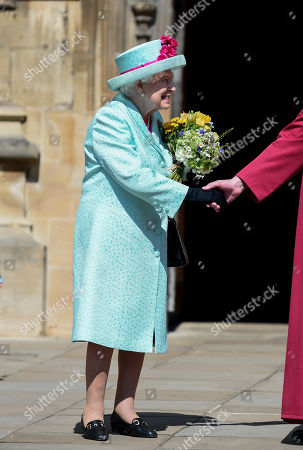 Editorial image of Easter Sunday service, St George's Chapel, Windsor, UK - 21 Apr 2019