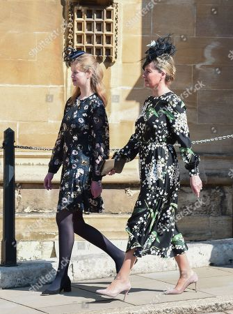 Lady Louise Windsor and Sophie Countess of Wessex