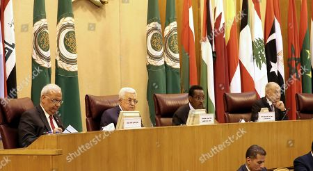 Editorial picture of Arab League emergency meeting on the Palestinians, Cairo, Egypt - 21 Apr 2019