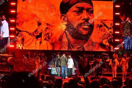 Julian Marley and Damian Marley