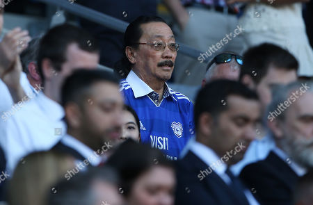 Cardiff City owner Vincent Tan.