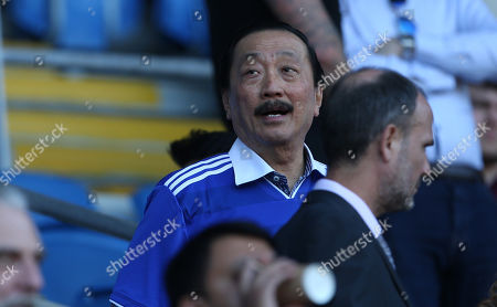 Stock Image of Cardiff City owner Vincent Tan.