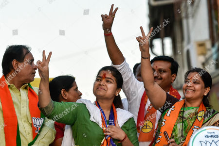 Editorial picture of Lok Sabha Election 2019, Mumbai, India - 21 Apr 2019