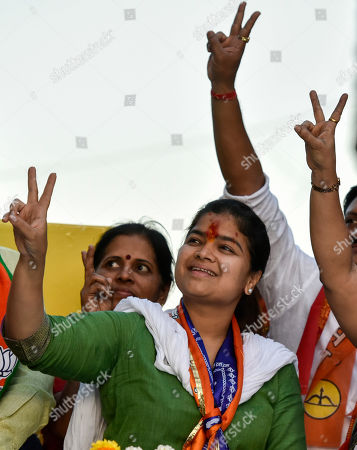 BJP candidate from the Mumbai Northwest constituency Poonam Mahajan