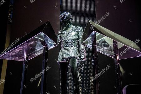 Stock Picture of Gesaffelstein performs at the Coachella Music & Arts Festival at the Empire Polo Club, in Indio, Calif