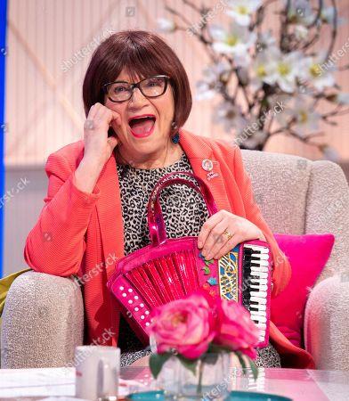 Editorial photo of 'Lorraine' TV show, London, UK - 22 Apr 2019