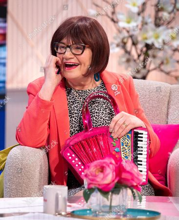 Editorial picture of 'Lorraine' TV show, London, UK - 22 Apr 2019