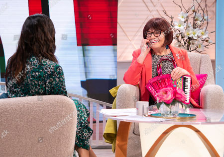 Editorial image of 'Lorraine' TV show, London, UK - 22 Apr 2019
