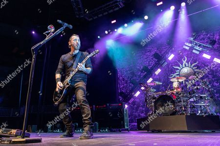 Editorial photo of Godsmack in concert at Fiserv Forum, Milwaukee, Wisconsin, USA - 20 Apr 2019
