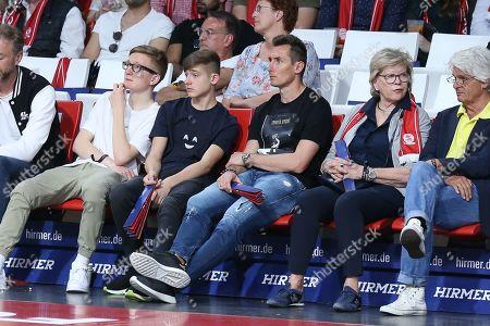 Miroslav Klose, FC Bayern Basketball vs. HAKRO Merlins Crailsheim, Basketball, BBL, 21.04.2019