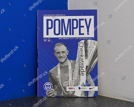 Editorial image of Portsmouth vs Coventry City, Sky Bet EFL League 1, Football, Fratton Park, Portsmouth, Hampshire, United Kingdom - 22 Apr 2019