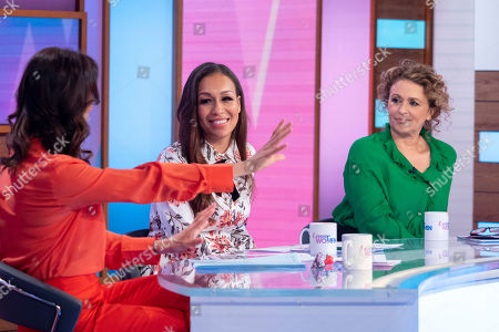 Andrea McLean, Rebecca Ferguson, Nadia Sawalha