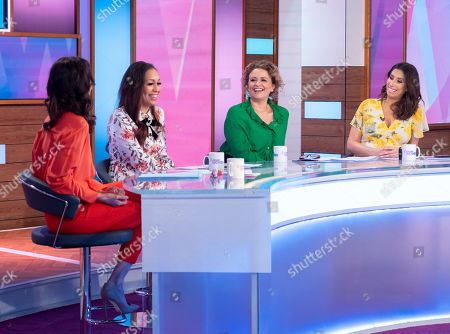 Andrea McLean, Rebecca Ferguson, Nadia Sawalha and Stacey Solomon