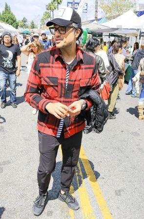 Jaime Camil at Farmers Market in Studio City